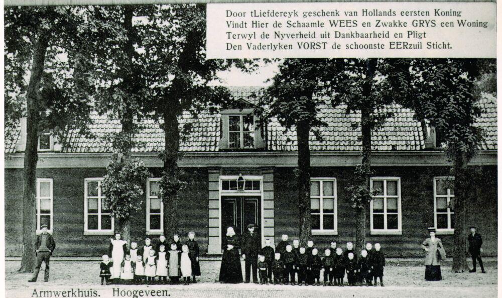 Van Echtenstraat 35, Het Armenwerkhuis