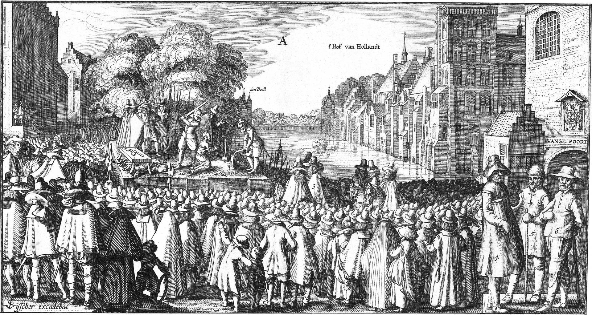 Executie van Reinier van Oldenbarnevelt, 1623