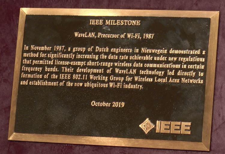 WIFI is uitgevonden in Nieuwegein. Trots dus ...