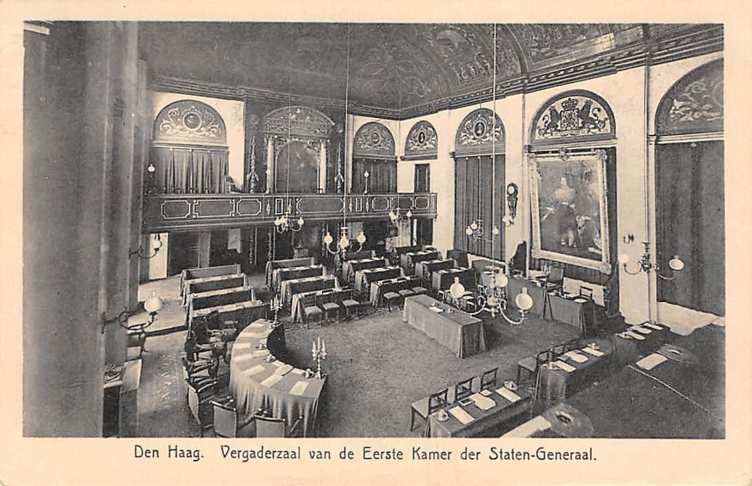 Vergaderzaal van de Eerste Kamer der Staten-Generaal (1932)