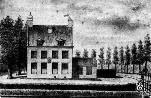 """Buitenplaats """"Huis Zwanenburg"""" met Pastoorsbosje"""