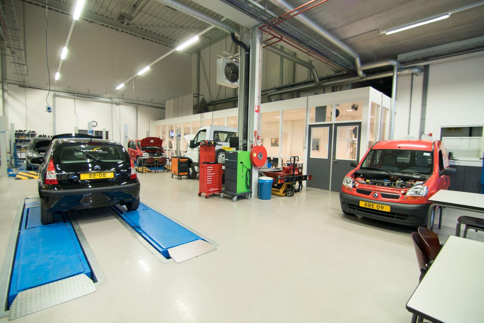 Innovam is dé opleider in de mobiliteitsbranche en gevestigd in Nieuwegein