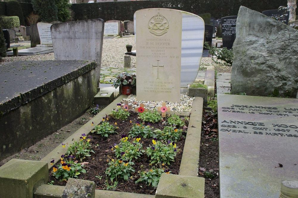 Frederick Henry Hooper begraven op NH begraafplaats van Vreeswijk