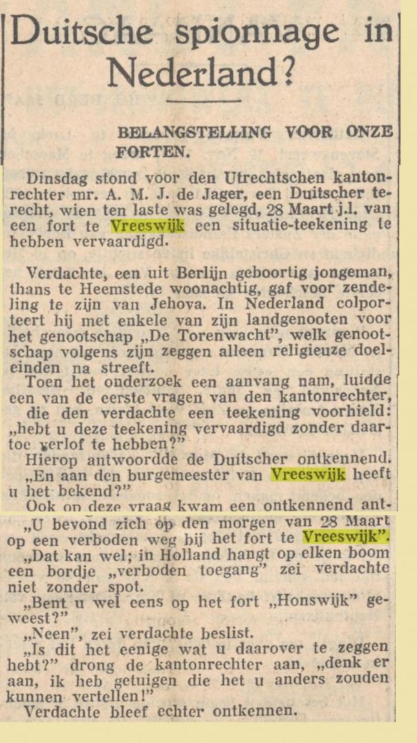 Limburgs Dagblad 8 mei 1935