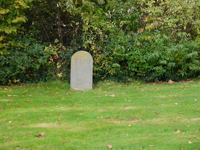 Van Echtenstraat, joodse begraafplaats