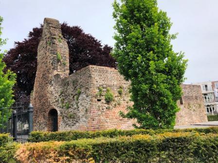 Ruïne van het kasteel 'Huis ten Berge'