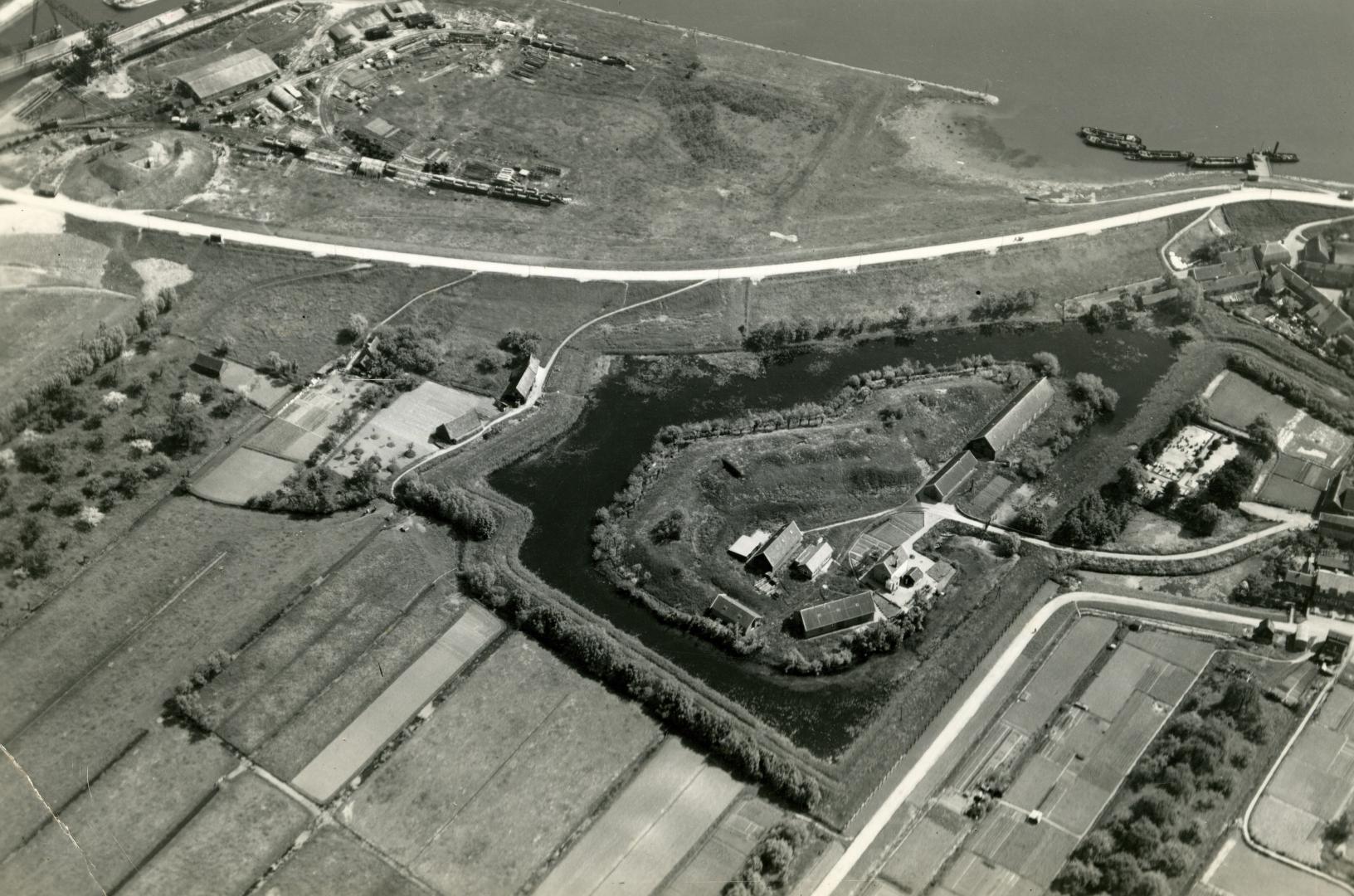 Fort omstreeks 1940.