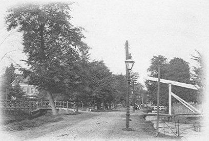 's-Gravenweg bij Kralingen rond 1900