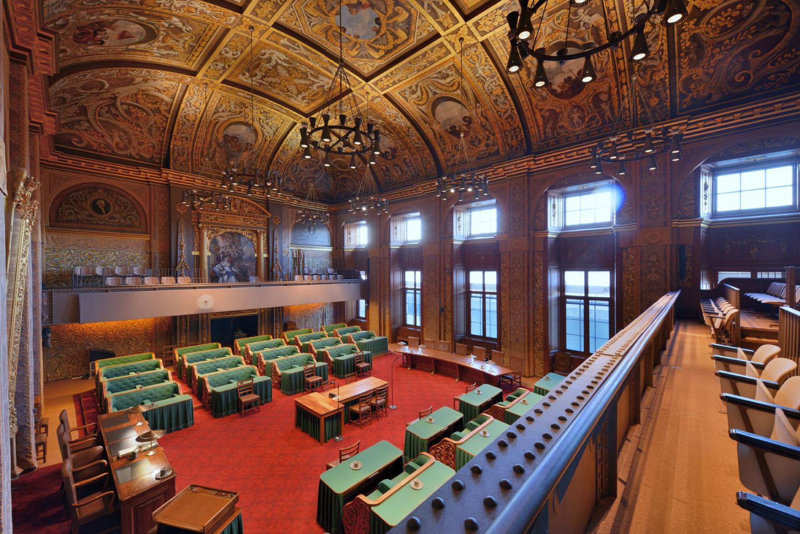 Plenaire zaal Eerste Kamer