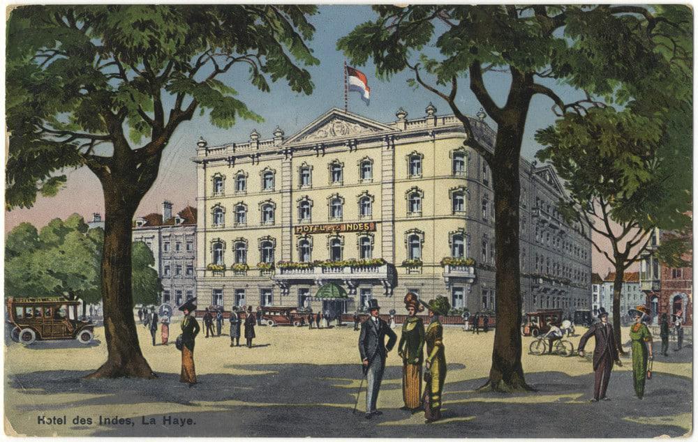 Hotel Des Indes circa 1910