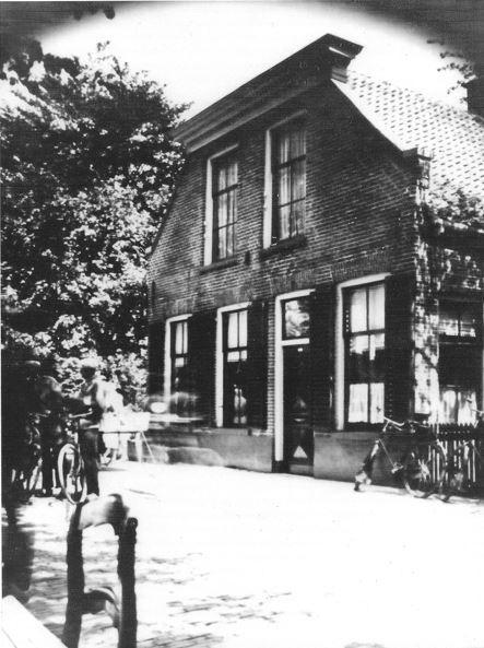 Hoofdstraat 7 Hoogeveen (Foto midden vorige eeuw)