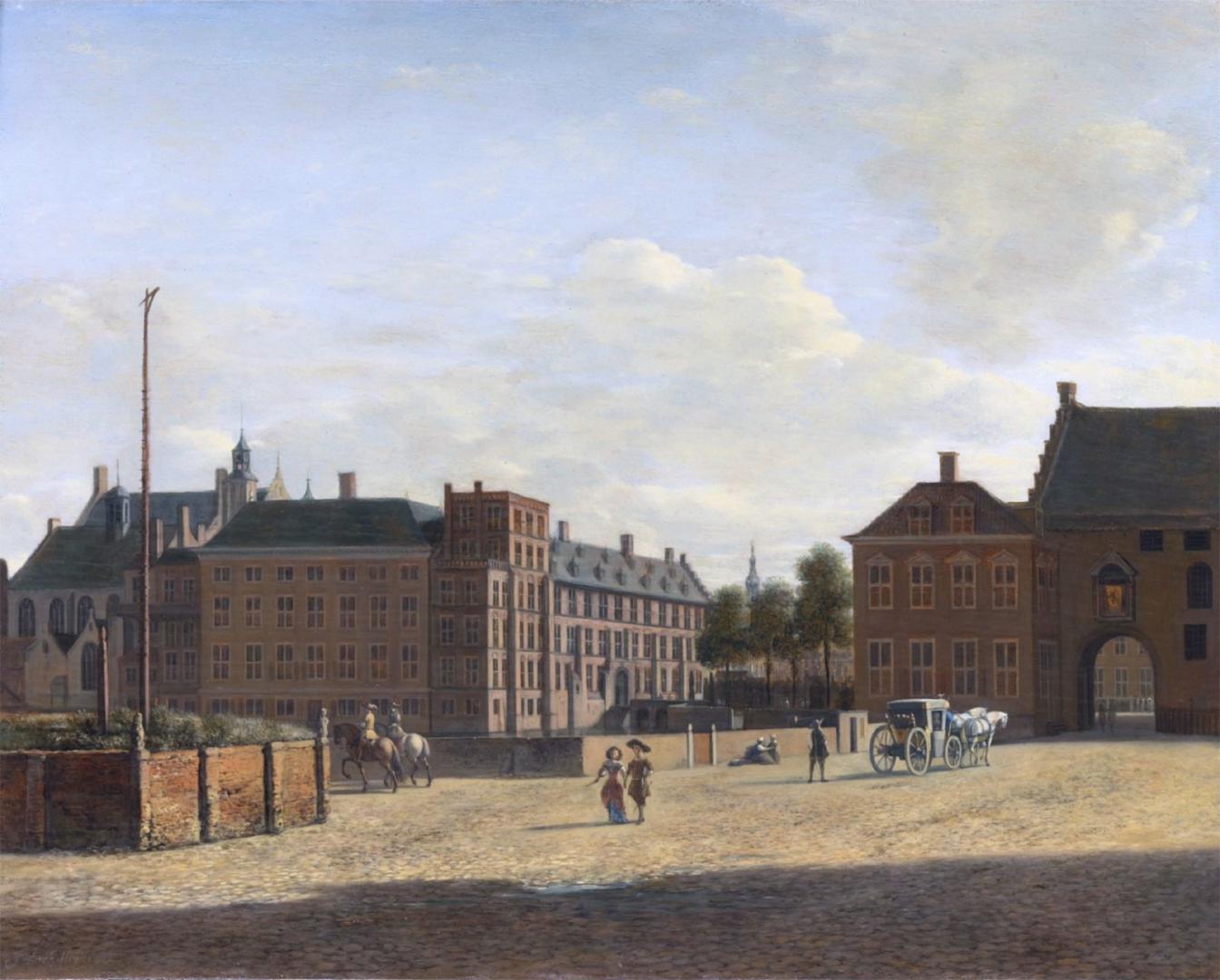 Gerrit Berckheyde in 1690