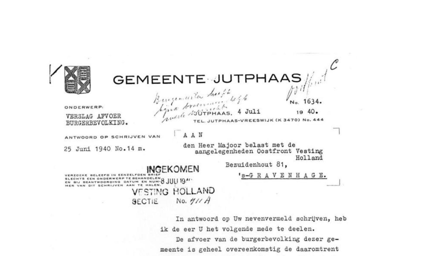 Boerderij De Middenhof in de 2e Wereldoorlog