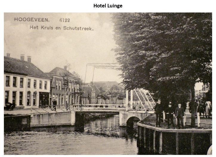 Voormalig Hotel Luinge nu appartementencomplex 't Schuthuys