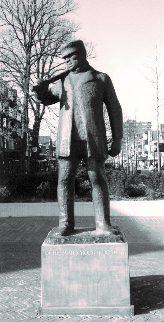 Schippersmonument Hoofdstraat (zuid) Hoogeveen