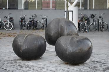 Kunstwerk Drie Knoppen